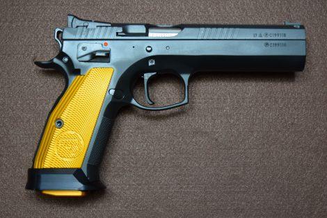 CZ 75 TACTICAL SPORT ORANGE 9MM 5″