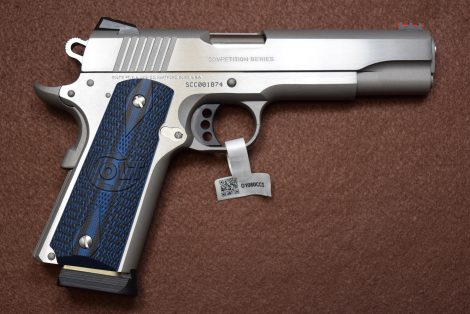 COLT 1911 GOVERNMENT COMPETITION S/S 45ACP  5″
