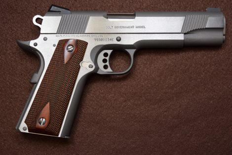 COLT 1911 GOVERNMENT S/S 9MM 5″