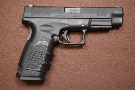 USED SPRINGFIELD XDM 45 W/NIGHTSIGHTS 45ACP 4.5″