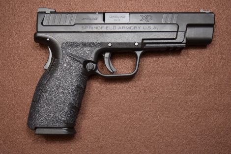 USED SPRINGFIELD XD9 MOD2 TACTICAL 9MM 5″