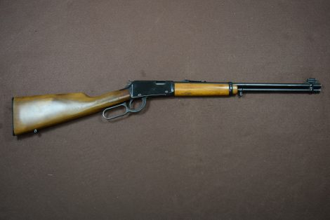 USED ITHACA 72 SADDLE GUN 22LR 18.5″