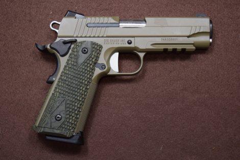 USED SIG 1911 45ACP 4″