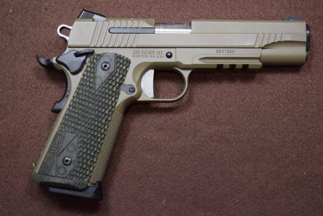 USED SIG 1911 45ACP 5″