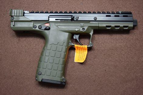 KEL-TEC CP33 GREEN 22LR 5.5″