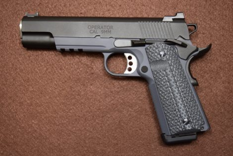SPRINGFIELD ARMORY 1911 LOADED OPERATOR 9MM 5″