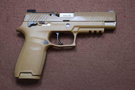 SIG SAUER P320 M17 FDE 9MM 4 7″
